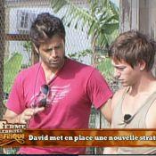 La Ferme Célébrités en Afrique : Regardez David se faire prendre à son propre piège et Kelly... encore bernée !