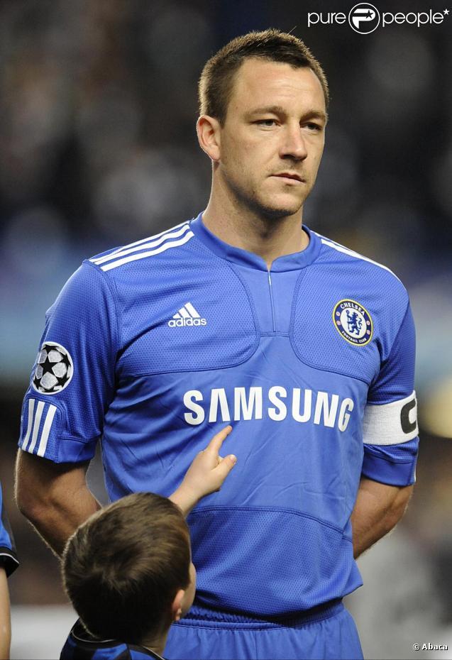 John Terry, auteur d'un délit de fuite à la fin du match Chelsea Inter de Milan le 16 mars 2010