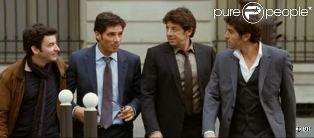 Le film Comme les cinq doigts de la main avec Eric Caravaca, Pascal Elbé, Patrick Bruel et Matthieu Delarive