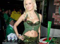 La bombe de Playboy, Holly Madison, fête la Saint-Patrick... à sa très charmante façon !