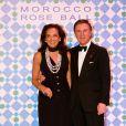 Alberto Repossi et sa femme au Bal de la Rose 2010, à Monaco