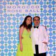Victoire de Taillac et son mari Ramdane Touhami au Bal de la Rose 2010, à Monaco