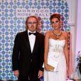 Umberto Tozzi et sa femme au Bal de la Rose 2010, à Monaco