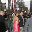 Jennifer Aniston lors de l'avant-première de The Bounty Hunter, le chasseur de primes, au Gaumont Marignan de Paris  le 28 mars 2010