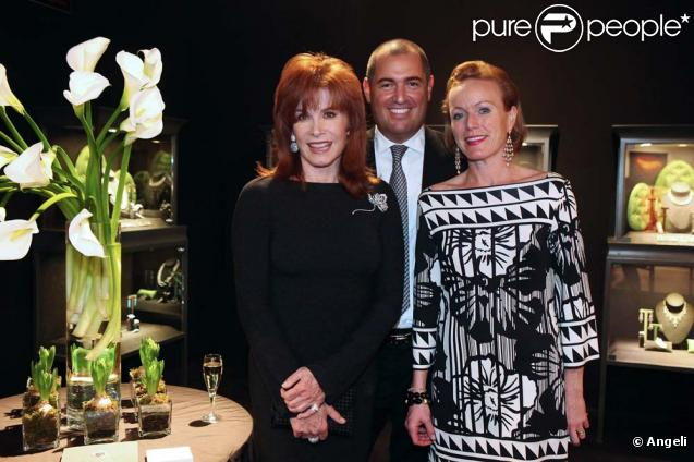 Stefanie Powers à Salzburg, en Autriche, le 26 mars 2010 ! cancer - Expo