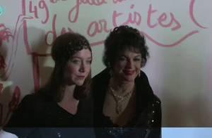 Regardez pourquoi l'élégante Anny Duperey, accompagnée par sa fille Sara Giraudeau, a fait tout un cirque !
