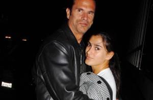 Lorenzo Lamas toujours aussi amoureux de sa future femme... Il ne la lâche plus !