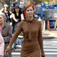Pour les looks de Miranda Hobbes, Patricia Field passe sans difficulté d'un look plutôt sobre à des tenues complètement excentriques.