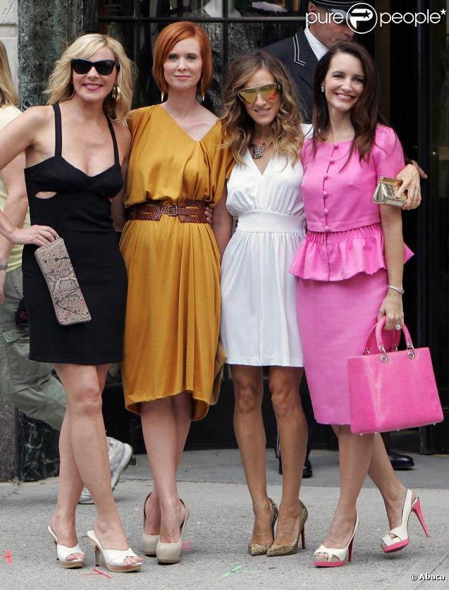 Samantha Jones, Miranda Hobbes, Carie Bradshaw, Charlotte York : Quatre looks, quatre personnalités ! Merci Patricia Field...