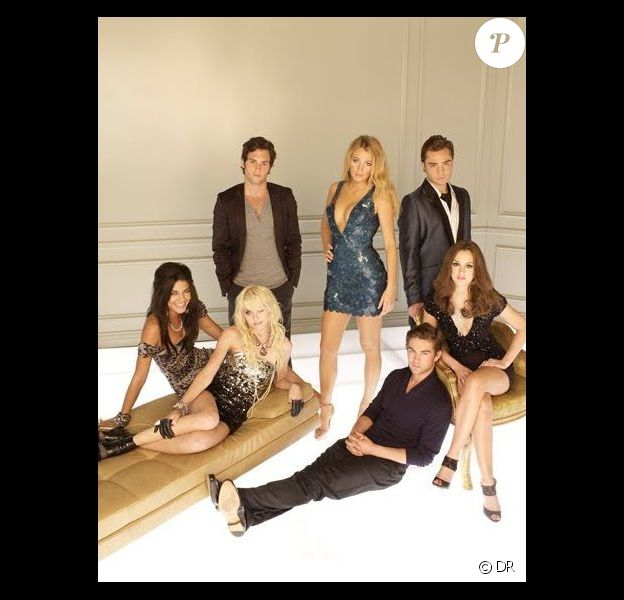 L'équipe de la série Gossip Girl