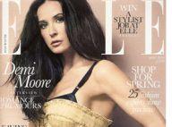 Demi Moore : Elle ne sait plus quoi faire à part... montrer son corps !