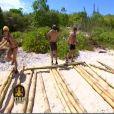 Construction du radeau efficace chez les jaunes (épisode 3 de Koh Lanta / 9 avril 2010)