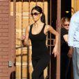 Nicole Scherzinger sort du studio de danse, à Los Angeles. 08/04/2010