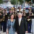 Lech Kaczynski et son épouse