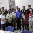 Susan Sarandon lors de leur voyage humanitaire à Haïti.
