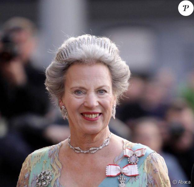Princesse Benedikte de Danemark aux 70 ans de la reine Margrethe de Danemark. Copenhague, le 15/04/2010