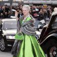 Les 70 ans de la reine Margrethe de Danemark. Copenhague, le 15/04/2010