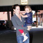 Violet Affleck : La super-héroïne se repose dans les bras de Jennifer Garner... c'est mérité !