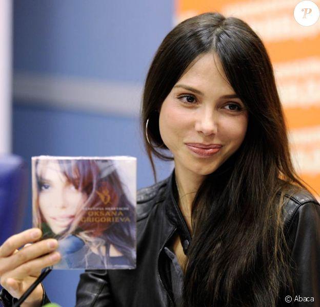 Oksana Grigorieva à Moscow, le 19 avril 2010