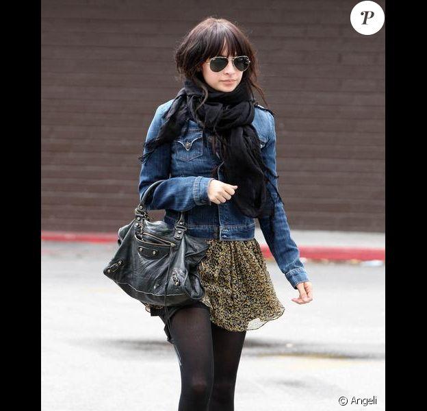 Nicole Richie à Los Angeles. Le 21 avril 2010