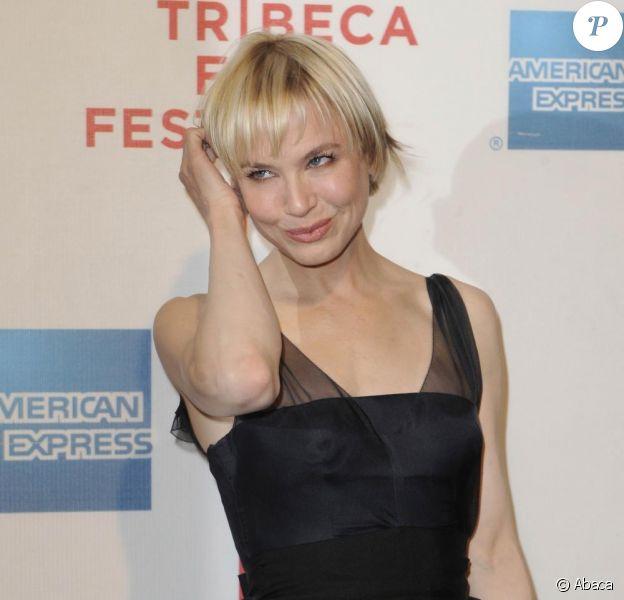 Renée Zellweger au Tribeca Film Festival, où le film My Own Love Song était projeté. 22/04/2010
