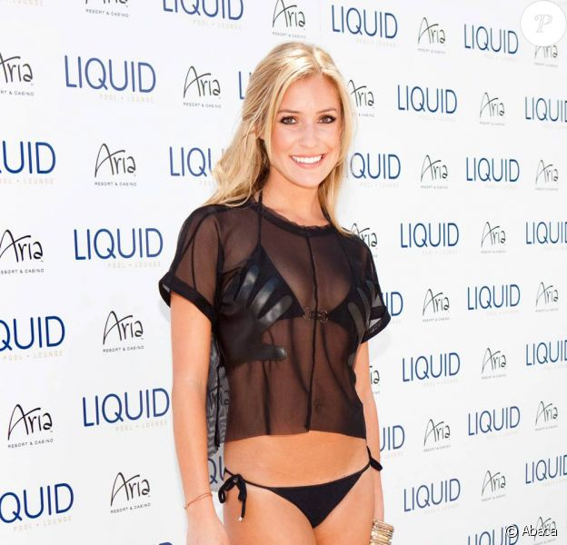 Kristin Cavallari à la Liquid Pool Lounge party, au Aria Resort & Casino à Las Vegas, le 24 avril 2010