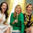 Kristin Davis, Kim Cattrall et Cynthia Nixon dans  Sex and the City .