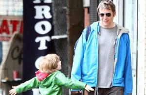 Matthew Broderick et son petit James se retrouvent entre hommes... sans Sarah Jessica Parker !