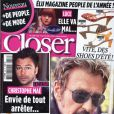 Couverture du magazine Closer