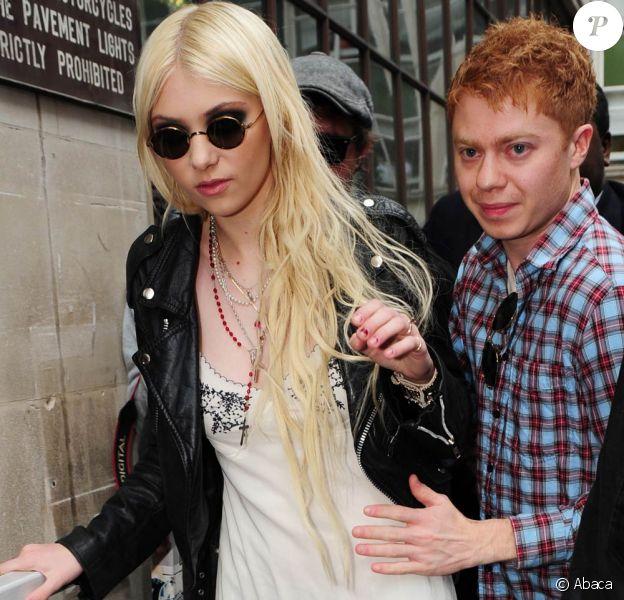 Taylor Momsen à Londres, le 11 mai 2010