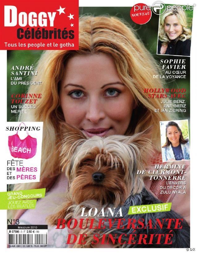 Loana en couverture de Doggy Célébrités