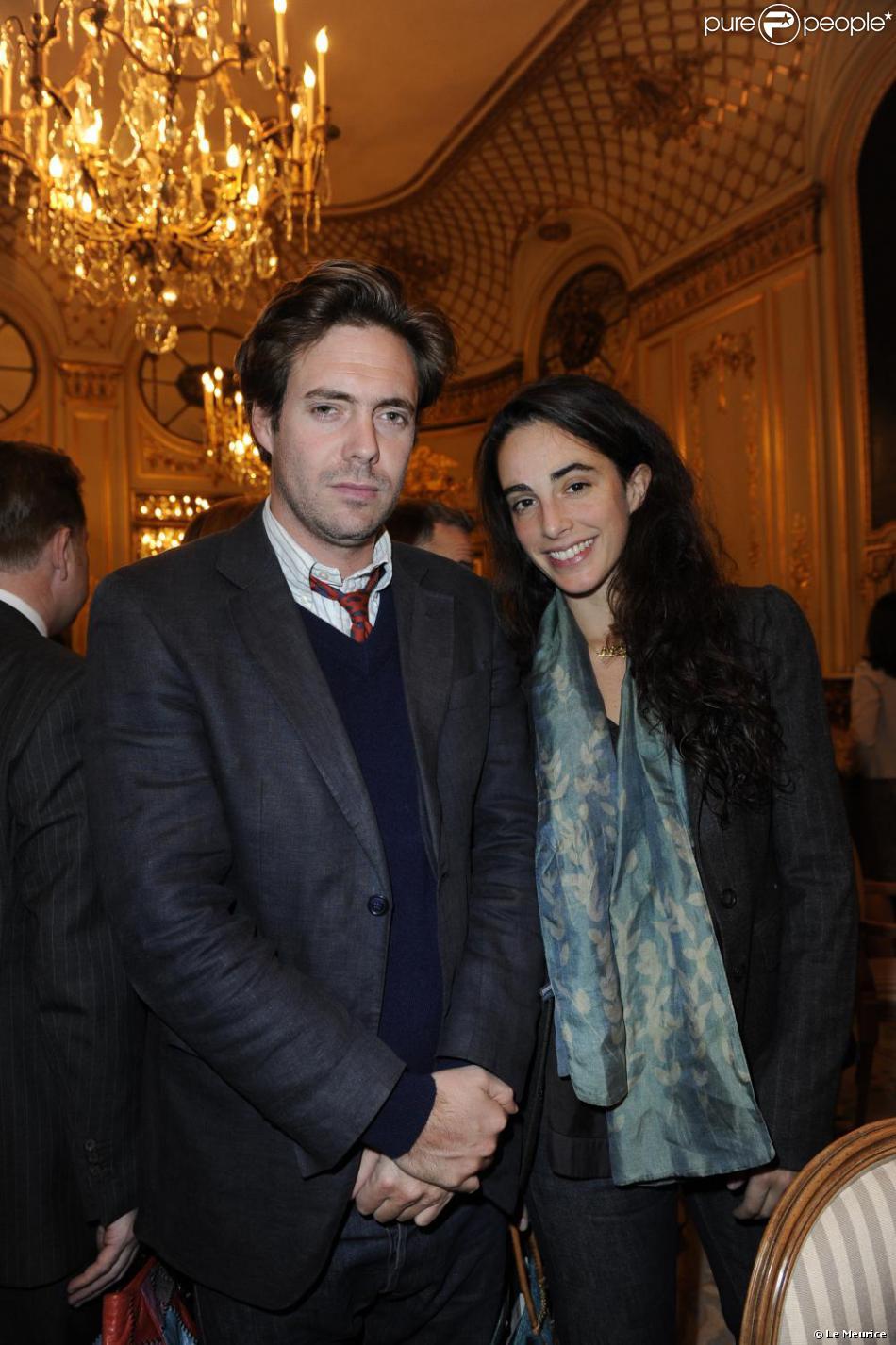 Audacieux Arthur et Clotilde de Kersauson au déjeuner de l'Hôtel Le Meurice LX-94