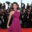 Aishwarya Rai sur le tapis rouge du 63e festival de Cannes. 14/05/2010