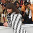 """Monia Chokri lors du photocall """"Les amours imaginaires"""" au Festival de Cannes, le 15 mai 2010"""
