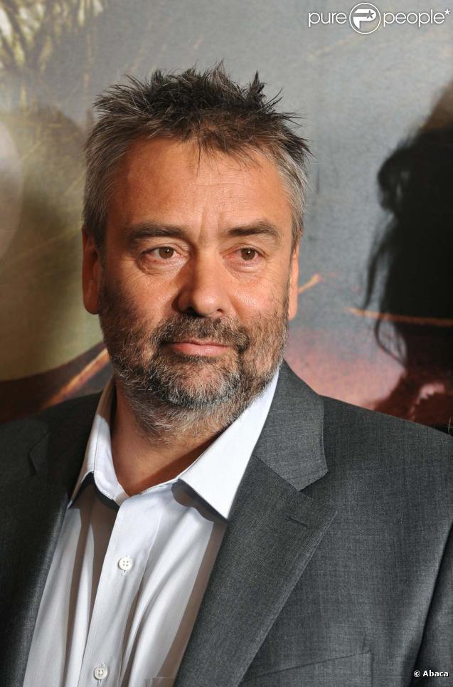 Luc Besson à l'avant-première des  Aventures extraordinaires d'Adele Blanc-Sec , à Paris, le 12 avril 2010 !
