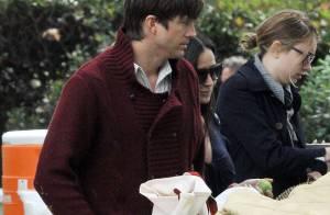Demi Moore rejoint Ashton Kutcher en tournage... Reste-t-il bien sage devant Natalie Portman ?