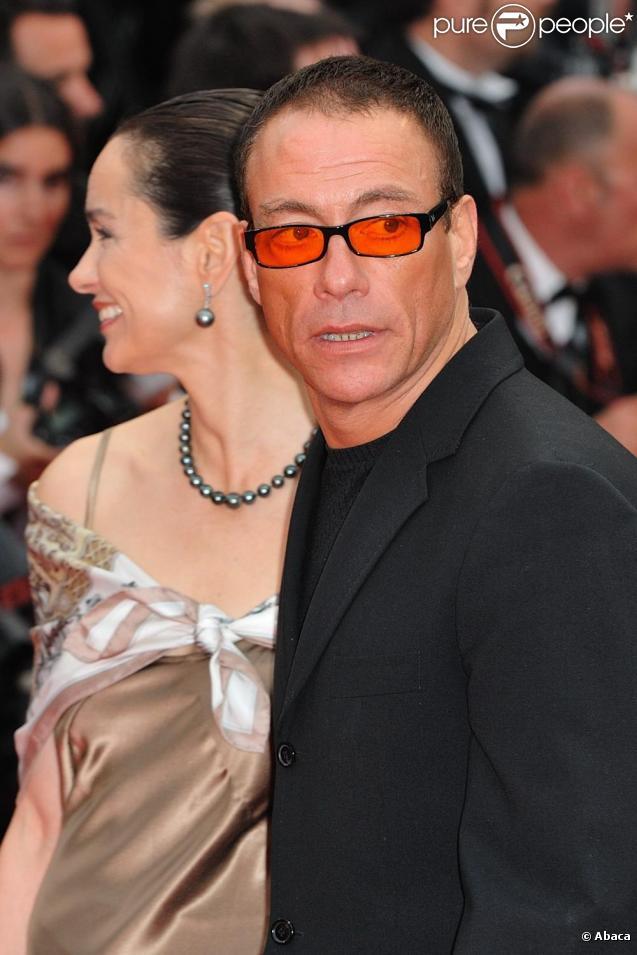 Jean-Claude Van Damme à Cannes, en mai 2010.