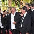 Gérard Depardieu lors de la présentation du film Fair Game durant le festival de Cannes le 20 mai 2010