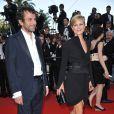 Marina Foïs et son bien-aimé Eric Lartigau lors de la présentation du film Fair Game durant le festival de Cannes  le 20 mai 2010