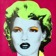 Kate Moss par l'artiste Banksy