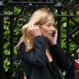 Kate Moss a été cambriolée pendant son sommeil d'après la presse anglaise, le 21 mai 2010.