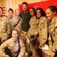 David Beckham visite les soldats américains du camp de Leatherneck, en Afghanistan, le 23 mai 2010 !