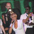 Allessandra Ambrosio lors du concert de Mary J. Blige au VIP Room de Cannes le 22 mai 2010
