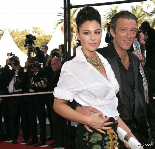 Monica Bellucci et son époux Vincent Cassel