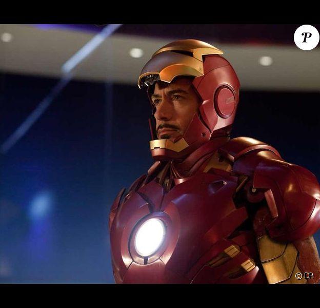Robert Downey Jr. dans le rôle de Iron Man