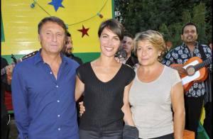Alessandra Sublet présente ses parents à Charles Aznavour lors d'une soirée... Gipsy !