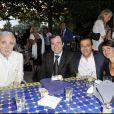 lors de la soirée de solidarité Chico & les Gypsies au patio de Camargue afin de récolter des fonds pour la cause du don d'organes et celle de l'association Rêves le 28 mai 2010