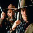 Clint Eastwood et Morgan Freeman dans Impitoyable