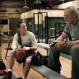 Hilary Swank et Clint Eastwood dans Million Dollar Baby