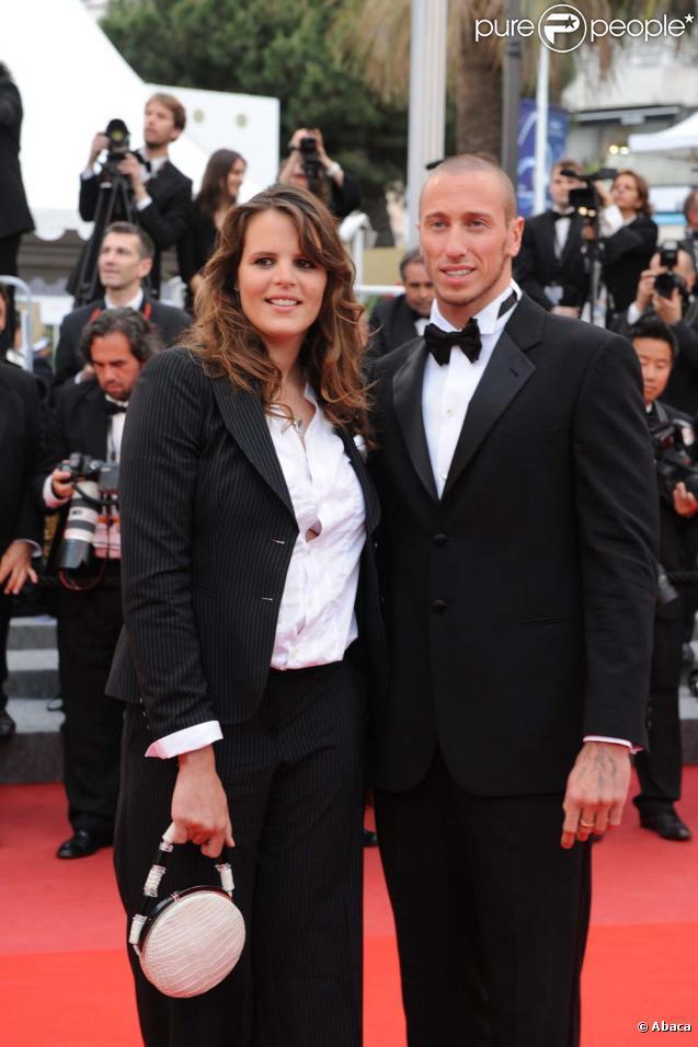 Laure Manaudou et Frédérick Bousquet à Cannes, le 16 mai 2010 !